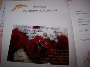 a toto je finalne dielo, nalepene uz v knizke Nase Svatba