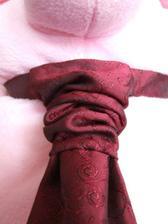 detail na francuzsku kravatu