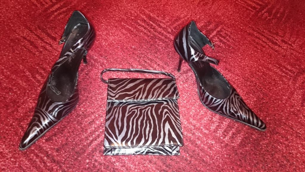 Čierno - šedé topánočky + kabelka - Obrázok č. 2