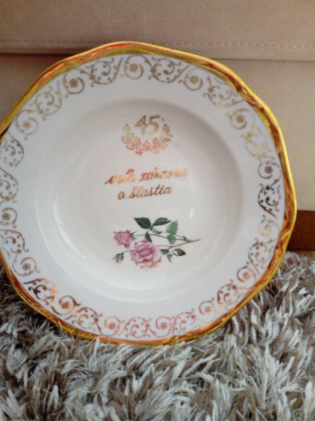 Jubilejné taniere 45 a 55 - Obrázok č. 1