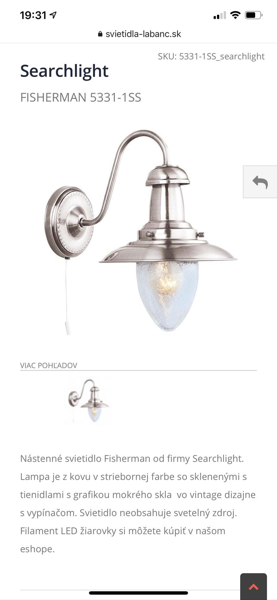 Nákupy do domčeka 🏡 - Ešte nástenné svietidlo do rodičovskej kúpeľne 🥰