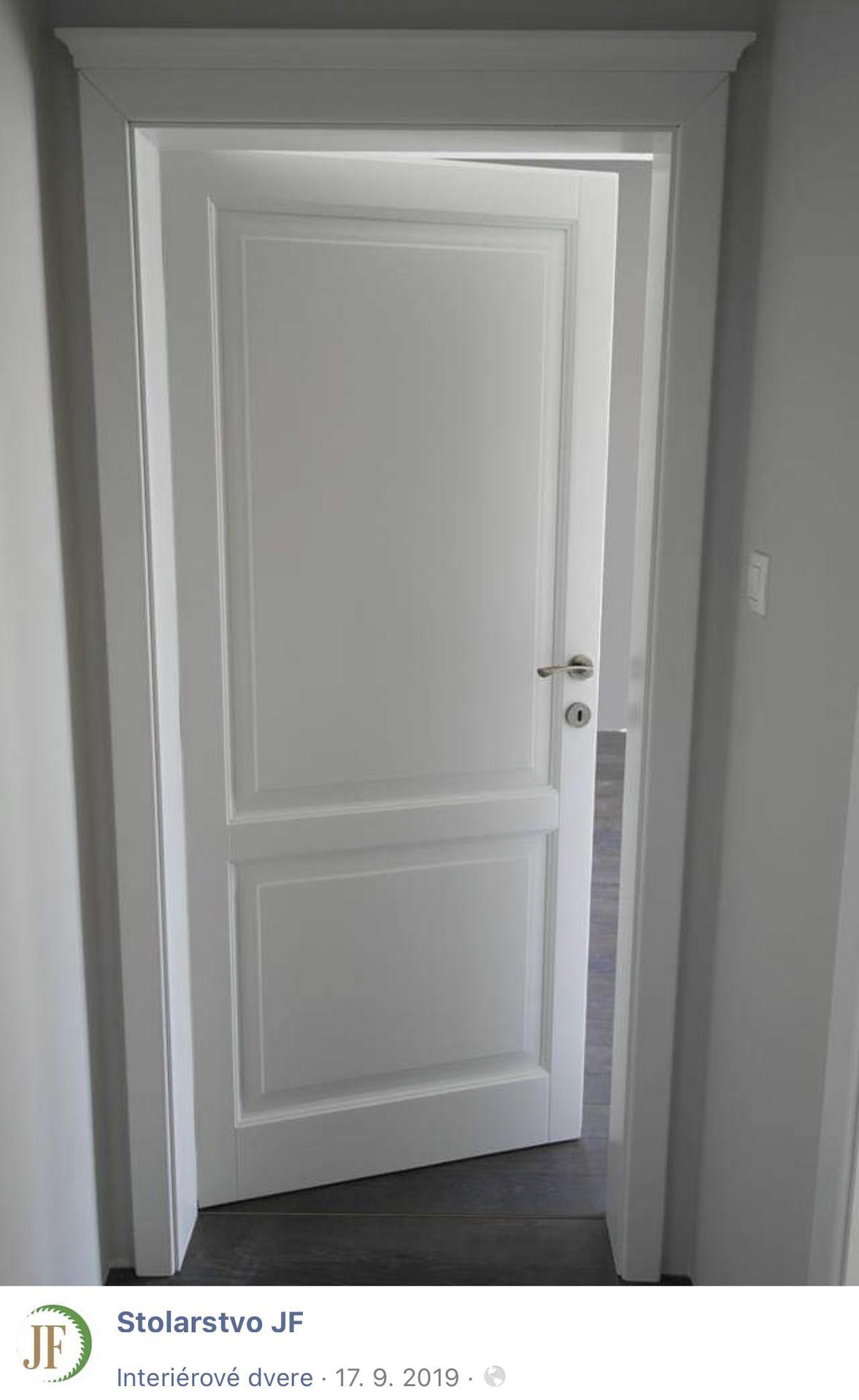 Nákupy do domčeka 🏡 - Konečne by mali doraziť aj interiérové dvere, biely drevený masív ❤️ Stolarstvo JF