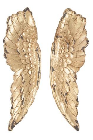 Nákupy do domčeka 🏡 - Môj milovaný Westwing 😊 je to nástenná dekorácia v tvare krídel, výška niečo malo cez 1 meter. Už nech prídu 🥰