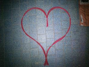 Tvoříme srdce.