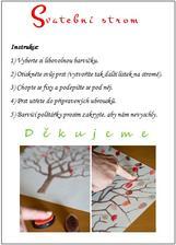 Instrukce ke svatebnímu stromu.