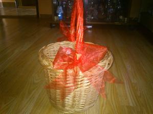 Košíček pro družičku.