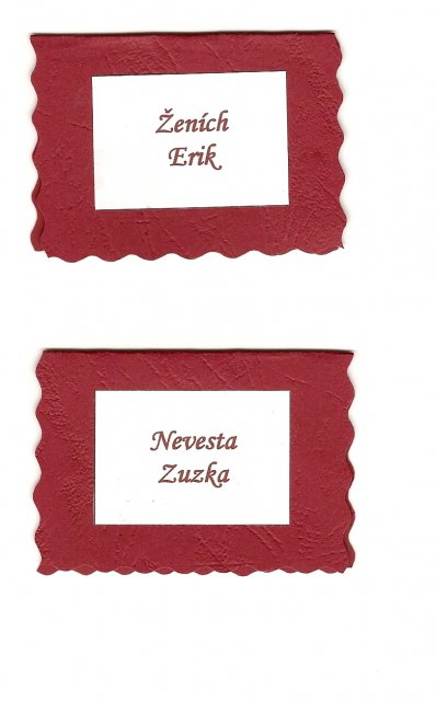 Zuzka a Erik - Detail... - scan