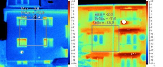 zateplena tehlova bytovka vs. nezateplena tehlova bytovka