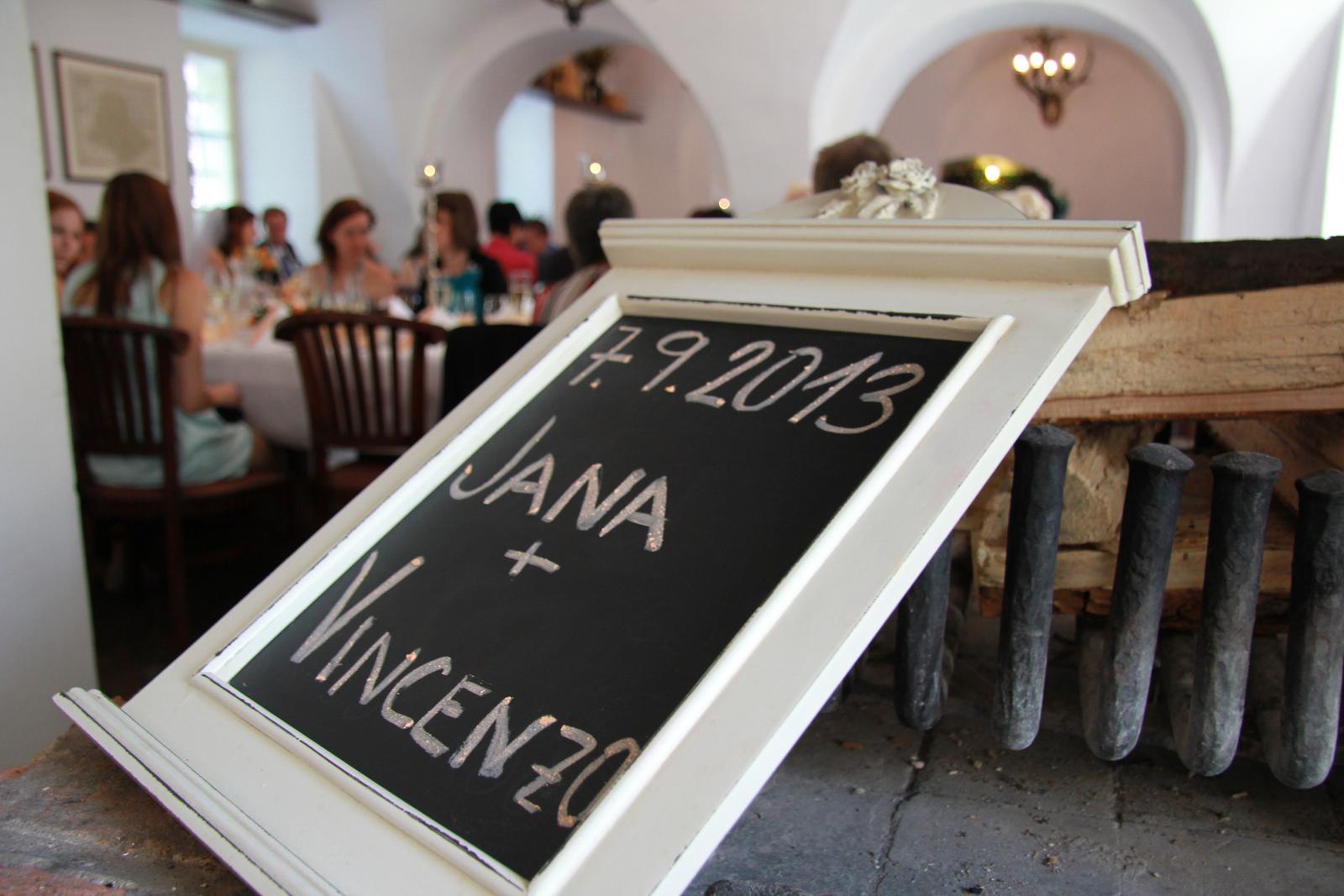Jana{{_AND_}}Vincenzo - ceska svatba - foto Studio Vanesa, hostina Zamek Zabreh