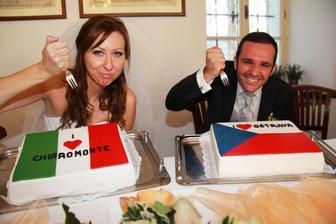 ceska svatba - foto Studio Vanesa, hostina Zamek Zabreh, dorty Pudova