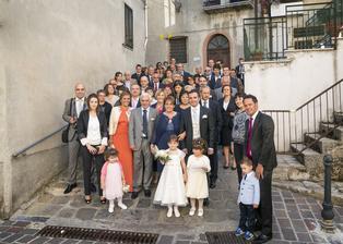 Italska svatba - foto Premek Jurca, hostina Piccolo Paradiso, Chiaromonte, Italie
