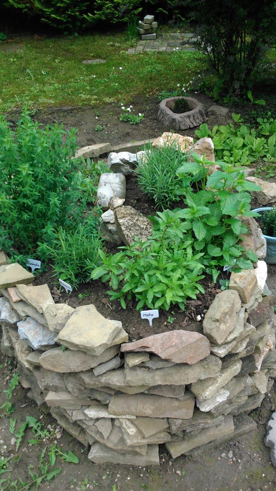 Záhradka a bylinková špirála - Obrázok č. 11