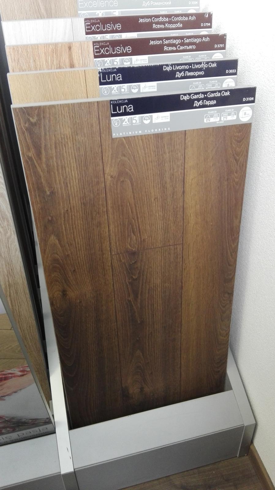 Môj výber do domu ::)) - Objednana AC4, 8 mm....viac sa mi pacila 10 mm, ale zevraj na podlahove kurenie by nemala ist az taka hruba...