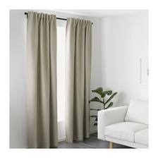 Zavesy nepriehladne,zatemnovacie do obyvacky na terasove okno, budu na kolajnicke.