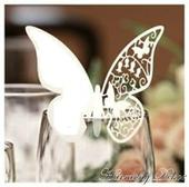 Menovky v tvare motýľa 001,