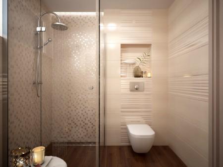 Návrh koupelny - A pokud se nám netrefí s návrhem, tak třeba pěšky pro tyhle obkládačky do Nitry :-*