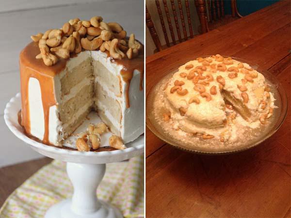 Veď aj SNAHA sa cení! - karamelová torta s orieškami