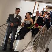 neobvyklé svatební šaty, 40