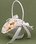 košíček pre dievčatko s lupienkami