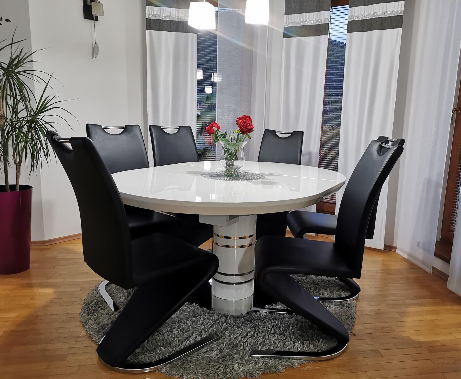 Jedálenský set stôl +stoličky - Obrázok č. 1