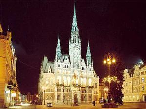krásná Liberecká radnice.......pro představu nelibereckým :-)