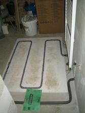 Smyčka pro vytopení podlahy v koupelně :-)