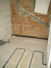 Polystyren pod betony položen