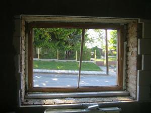 ještě bez okenic zevnitř