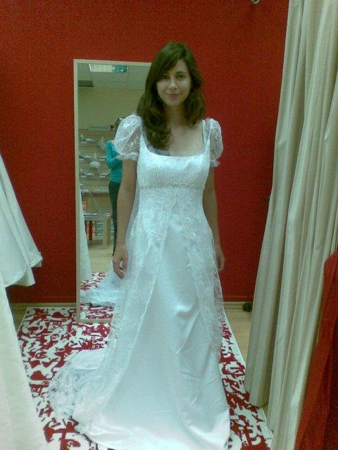 Ako to bolo pred svadbou - ako nočná košeľa