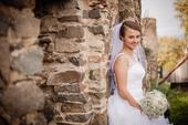 Biele svadobné šaty, 38