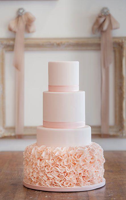 Sladké a pôvabné svadobné torty - Obrázok č. 2