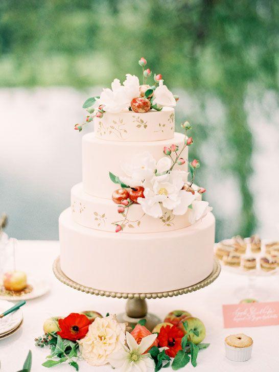 Sladké a pôvabné svadobné torty - Obrázok č. 7