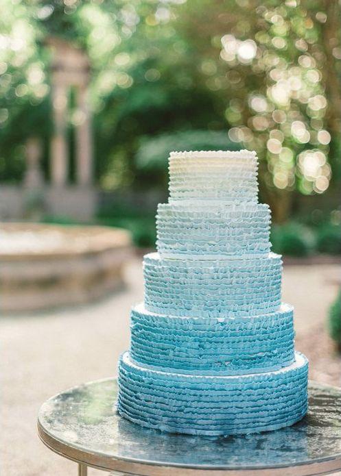 Sladké a pôvabné svadobné torty - Obrázok č. 18