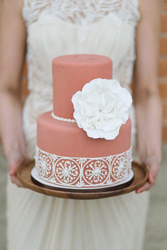 Sladké a pôvabné svadobné torty - Obrázok č. 24