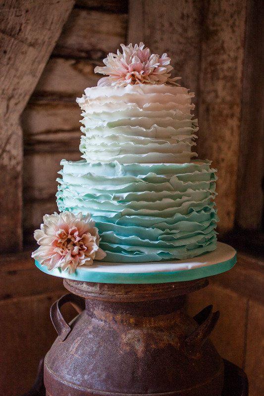 Sladké a pôvabné svadobné torty - Obrázok č. 39