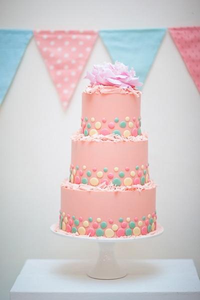 Sladké a pôvabné svadobné torty - Obrázok č. 49