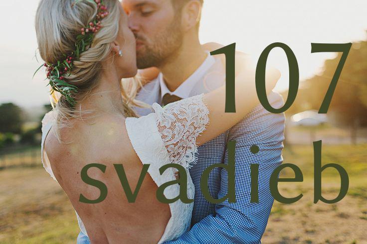 Dnes má svadbu až 107 neviest z vás :) Tie, ktorých sa to týka, tu najpravdepodobnejšie nie sú, ale aj tak vám prajem krásny deň plný lásky a radostných okamihov, na ktoré budete navždy s úsmevom spomínať :) - Obrázok č. 1