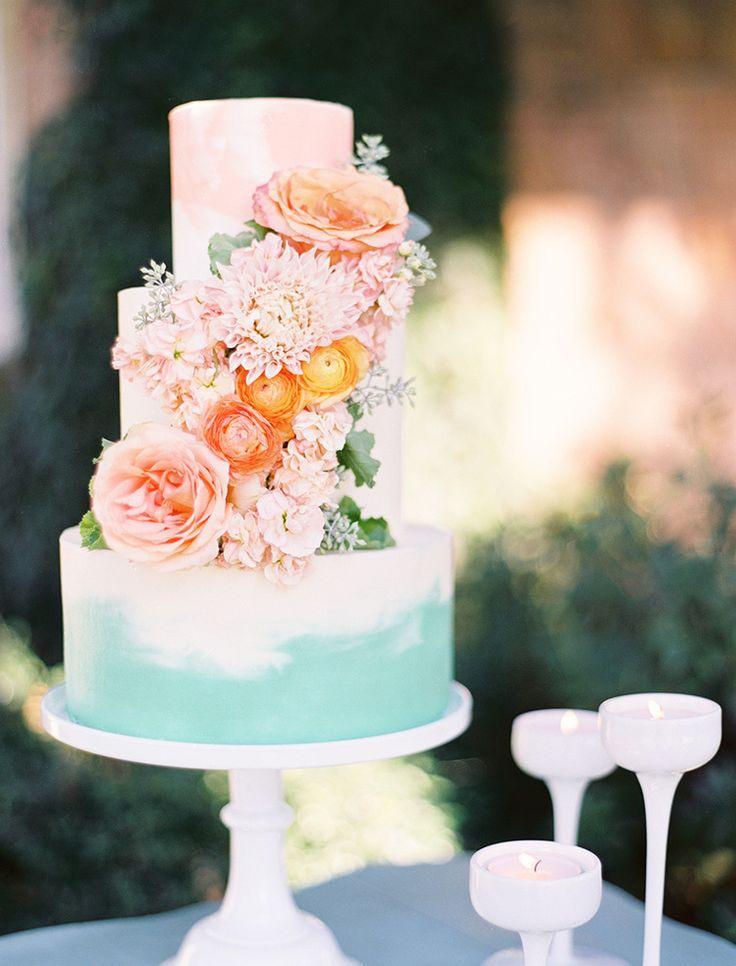 Sladké a pôvabné svadobné torty - Obrázok č. 61
