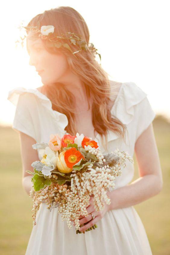 Svadobné účesy oživené kvetmi - Obrázok č. 67