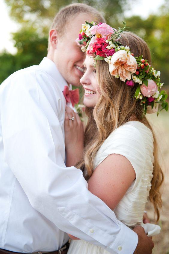 Svadobné účesy oživené kvetmi - Obrázok č. 68