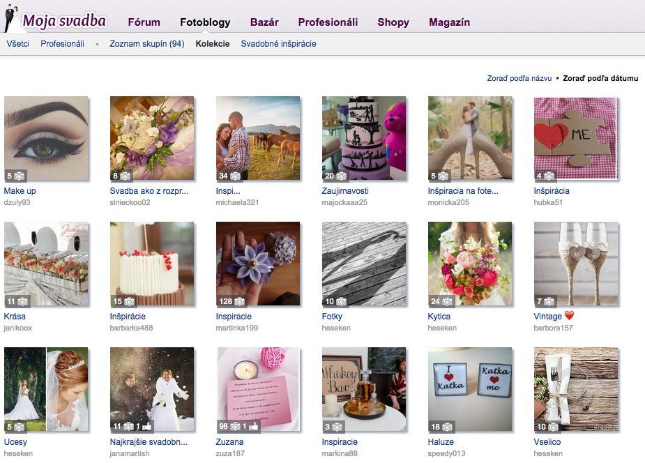 """#tip Využívate na Mojej svadbe aj Kolekcie? Vďaka nim si môžete ukladať obrázky, na ktoré počas prehliadania stránky narazíte a chcete sa k nim ešte niekedy vrátiť. Môžete si vytvárať viacero kolekcií na rôzne témy. Ak natrafíte na inšpiratívny obrázok v akomkoľvek albume, kliknite na """"Pridaj do kolekcie"""" a vyberte si kolekciu, prípadne si vytvorte novú. Existujúce kolekcie nájdete tu https://www.mojasvadba.sk/blogs/collections/?order_by=date Užitočná vec, všakže? :) - Obrázok č. 1"""
