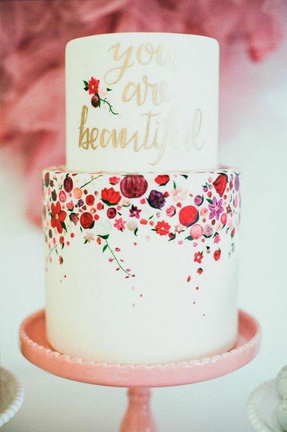 Sladké a pôvabné svadobné torty - Obrázok č. 76