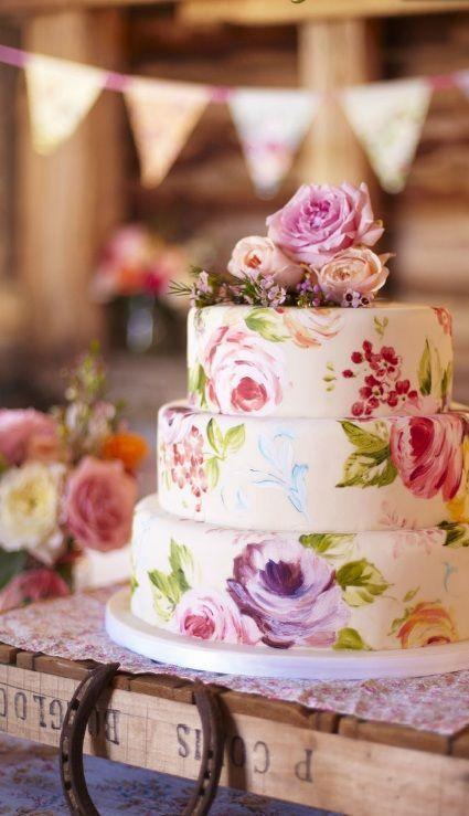 Sladké a pôvabné svadobné torty - Obrázok č. 78