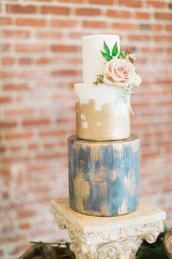 Sladké a pôvabné svadobné torty - Obrázok č. 79