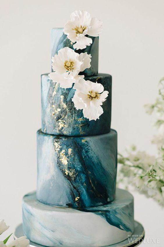 Sladké a pôvabné svadobné torty - Obrázok č. 80