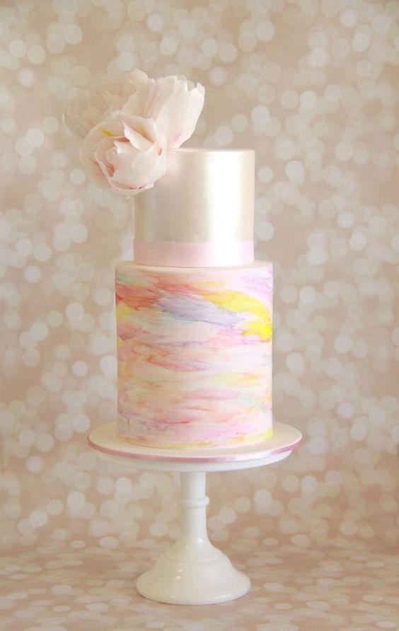 Sladké a pôvabné svadobné torty - Obrázok č. 88
