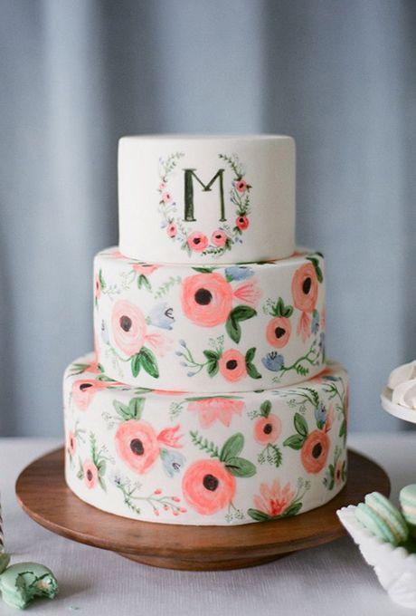 Sladké a pôvabné svadobné torty - Obrázok č. 91