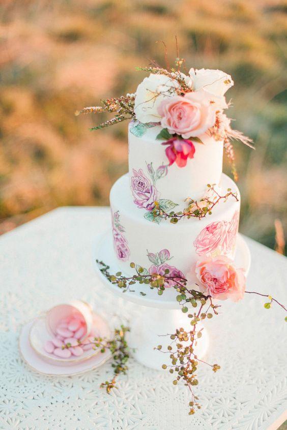 Sladké a pôvabné svadobné torty - Obrázok č. 96
