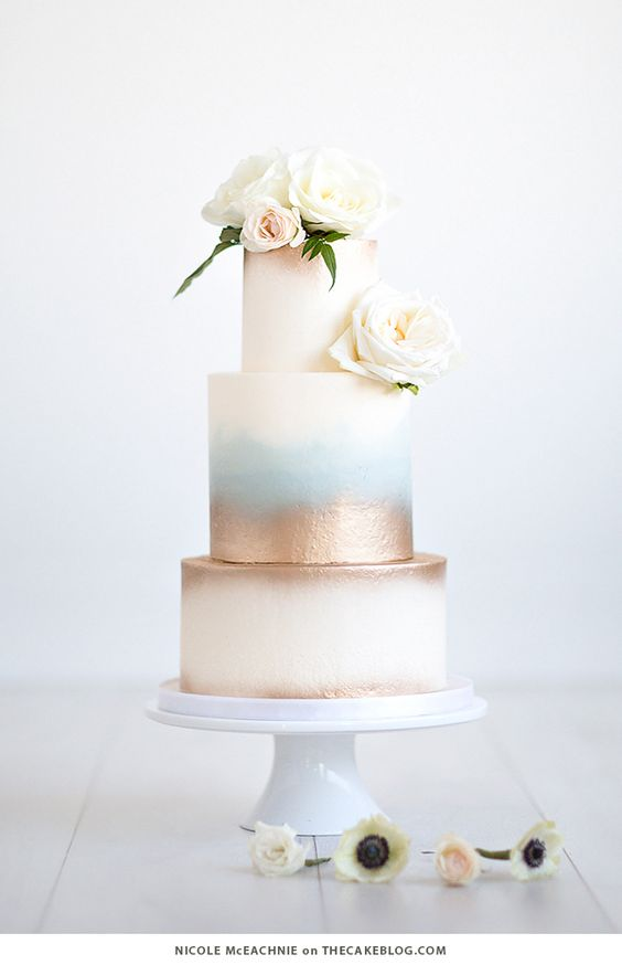Sladké a pôvabné svadobné torty - Obrázok č. 97