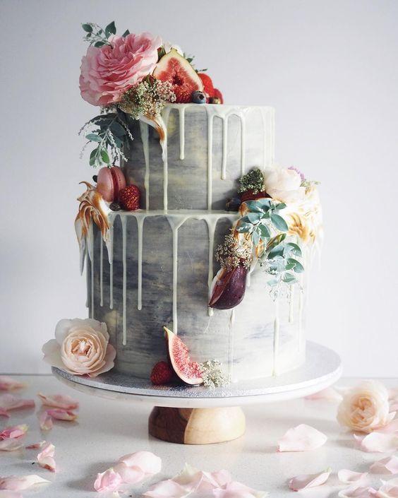 Sladké a pôvabné svadobné torty - Obrázok č. 99